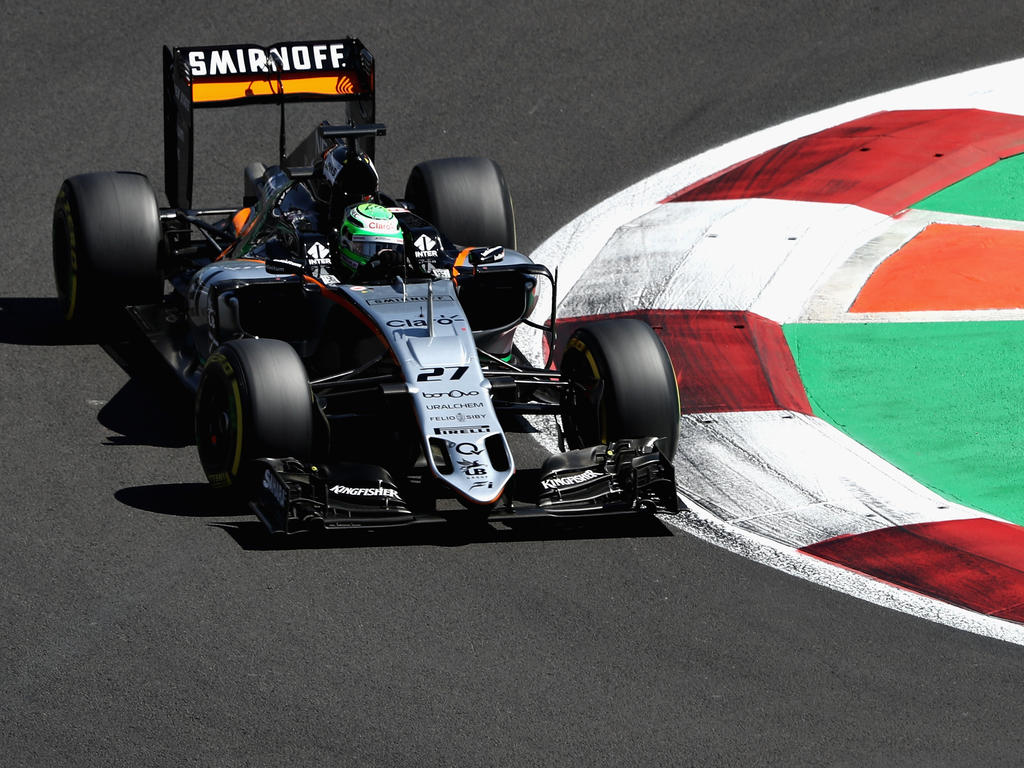 Nico Hülkenberg in seinem Force India
