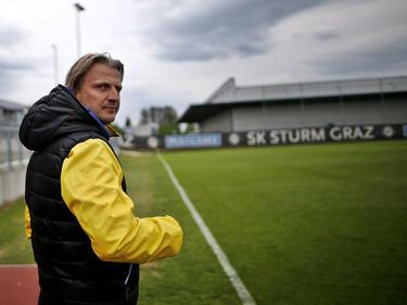 Markus Schopp kann die neue Sturm-Linie mit seinem Gewissen nicht vereinbaren