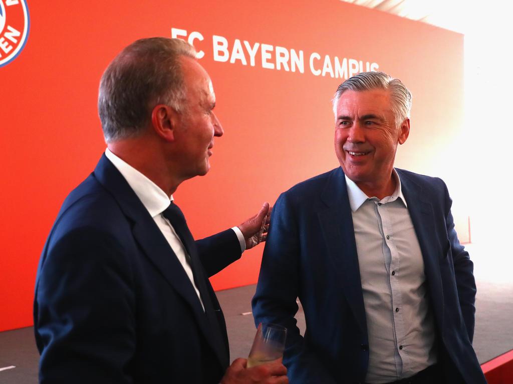 Rummenigge: Trennung von Ancelotti