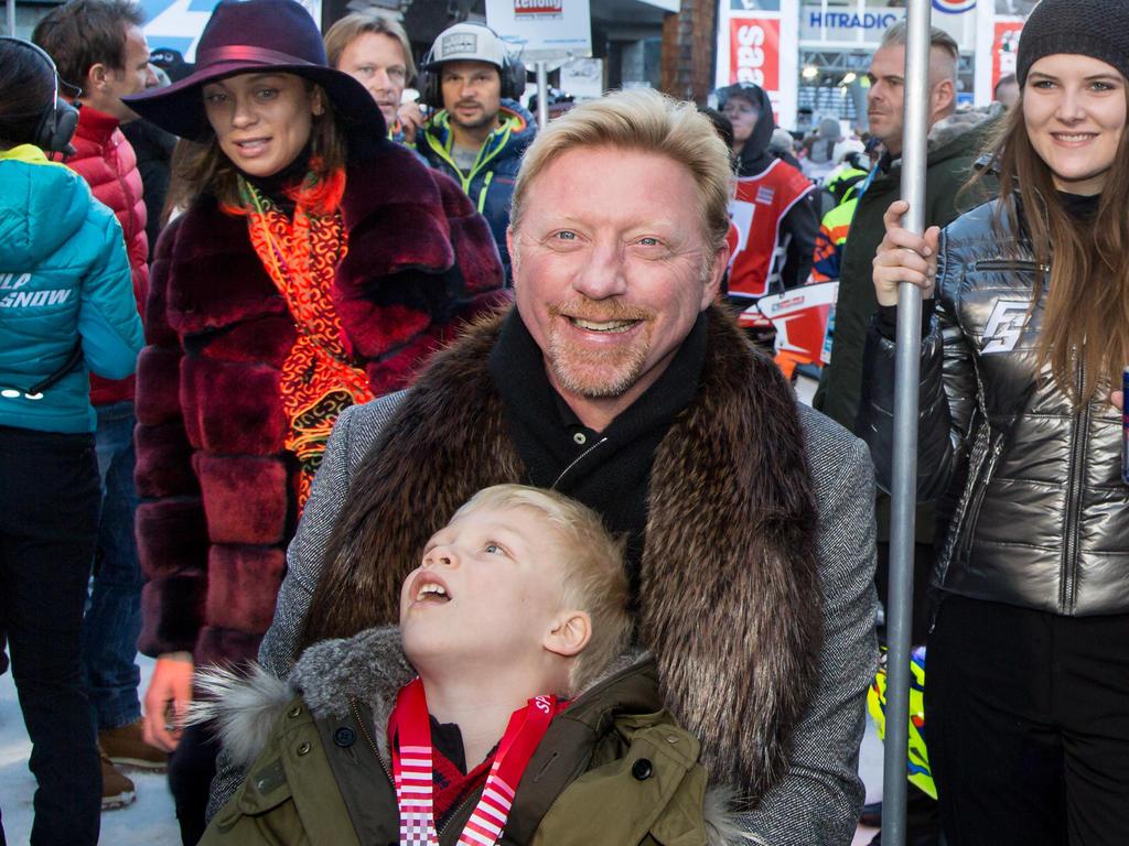 Boris Becker und seine Familie sind in Sicherheit