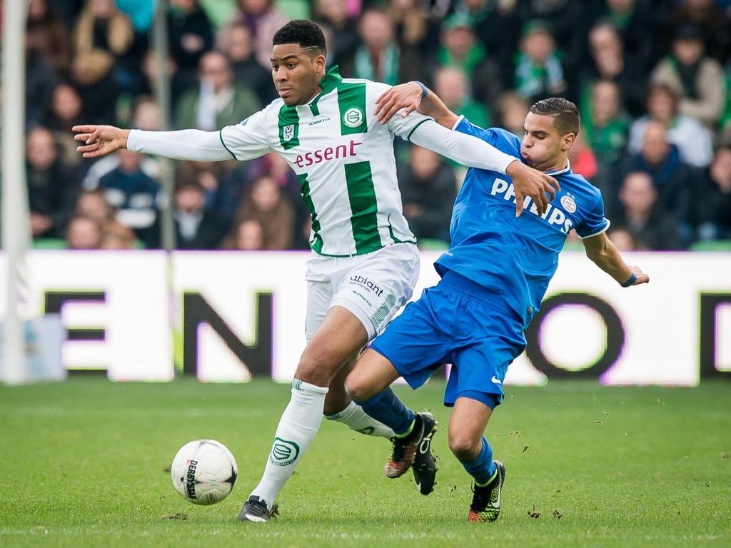 Jafar Arias Eredivisie Nieuws Spitsenstrijd in Groningen Mahi of