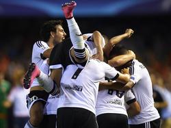 Mit einem überzeugenden 3:1-Sieg legte der FC Valencia den Grundstein zum Einzug in die Königsklasse