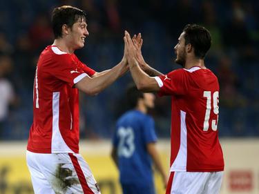 Österreichs U21-Nationalteam beschenkte die wenigen Fans in St. Pölten mit vielen Toren