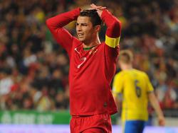 Portugals Ausnahmekönner Cristiano Ronaldo