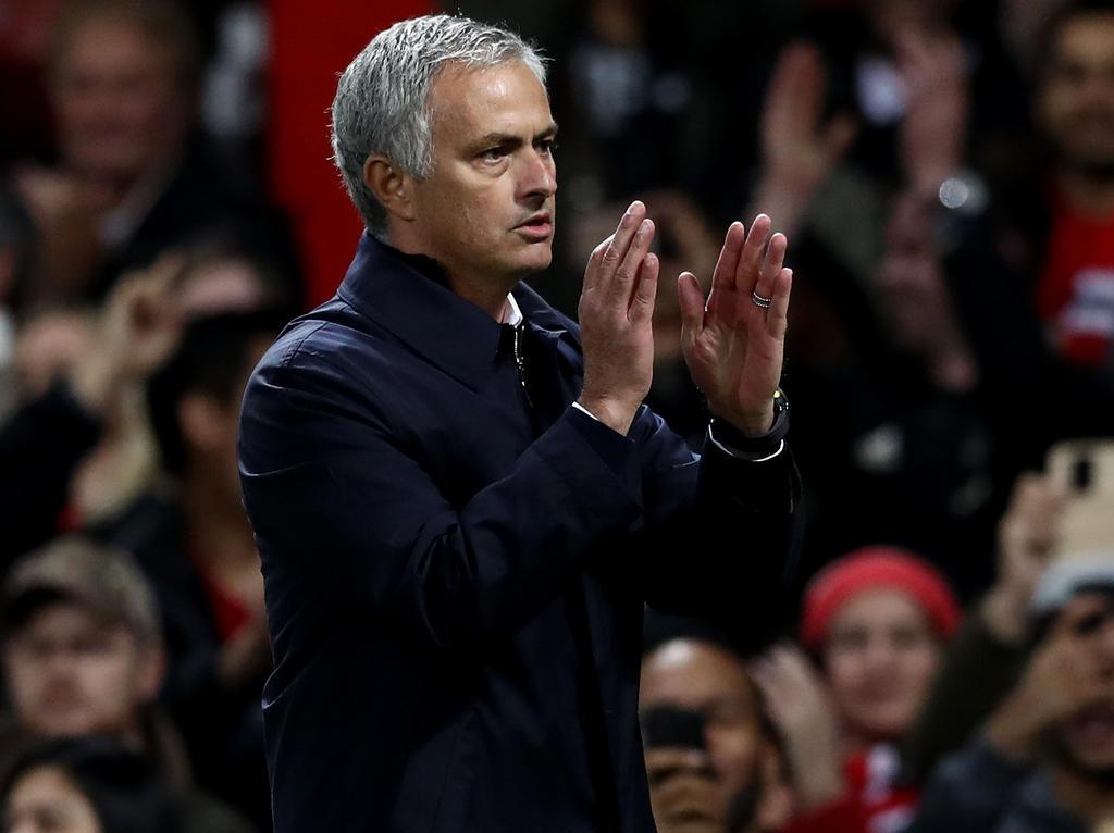 José Mourinho dankt der