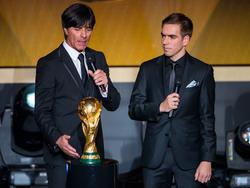 Philipp Lahm (r.) könnte bald zum DFB zurückkehren
