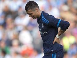 Cristiano Ronaldo muss einen Rückschlag verkraften