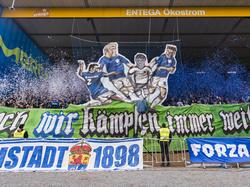 Die Fans in Darmstadt betonen ihre Tradition