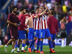 El  despliegue físico del Leicester ante el Sevilla fue impresionante, según Godín. (Foto: Getty)