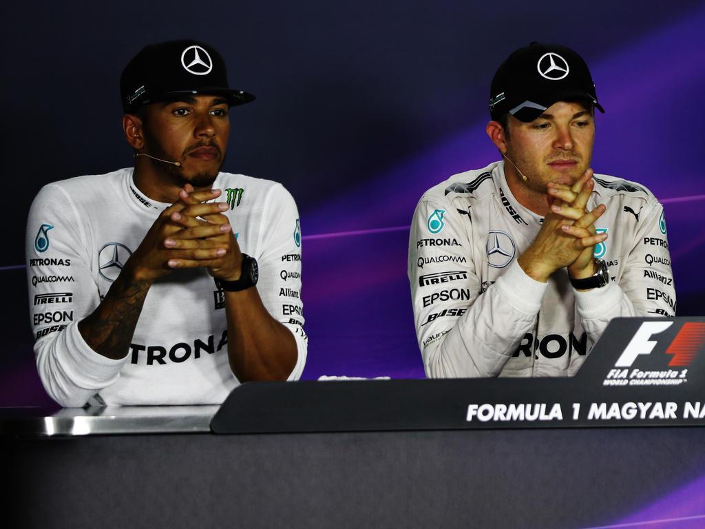 Lewis Hamilton und Nico Rosberg lassen mal wieder die Giftpfeile fliegen