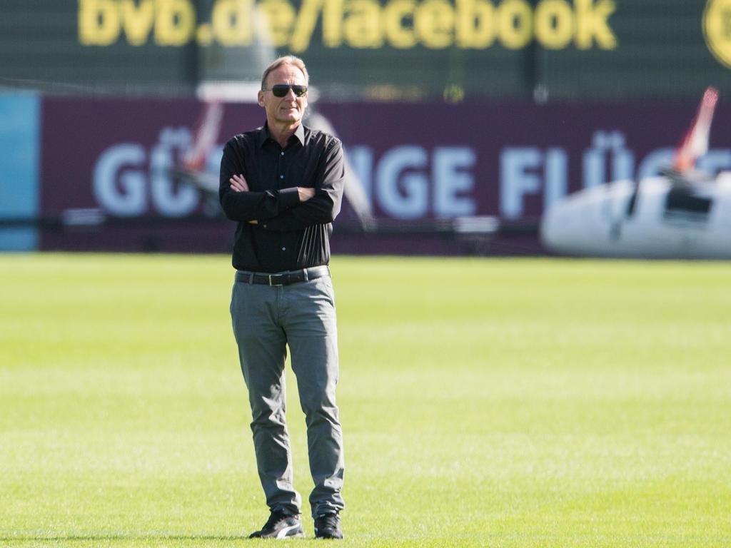 Hans-Joachim Watzke macht sich Sorgen um seinen BVB