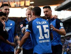 Hoffenheim hatte gegen Köln viermal Grund zum Jubeln
