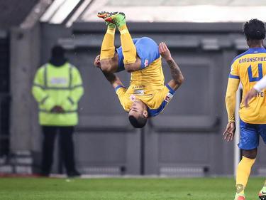 Onel Hernández schoss Braunschweig in Düsseldorf zum Sieg