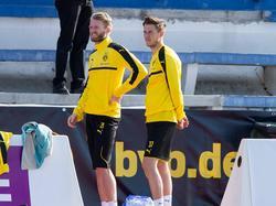 Schürrle (l.) und Durm fehlen dem BVB gegen Schalke