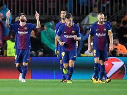 Messi llegó a 100 goles en competiciones europeas. (Foto: Getty)