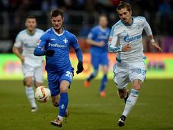Roman Neustädter (r.) will für die russische Nationalmannschaft auflaufen
