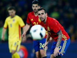 Paco Alcacer und die spanische Nationalelf sind auf Form-Suche