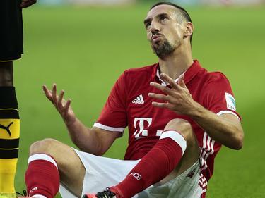 Franck Ribéry fiel einmal mehr unangenehm auf