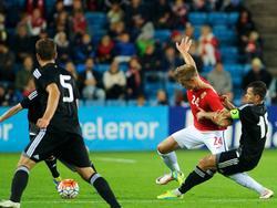Norwegen stolpert im Testspiel gegen Belarus