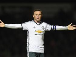 Wayne Rooney ist zurzeit nicht in Form