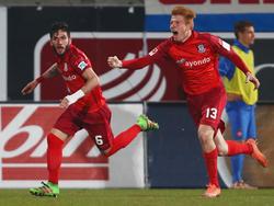 RB Leipzig verleiht Zsolt Kalmár (r.) an Brøndby IF