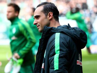 Werder-Trainer Alexander Nouri will sich nicht verrückt machen