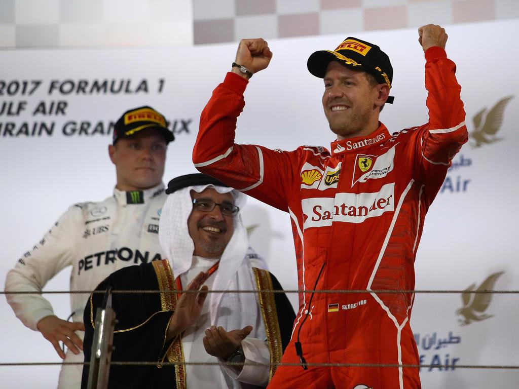 Sebastian Vettel hat mit seinen beiden Siegen auch Gerhard Berger überzeugt