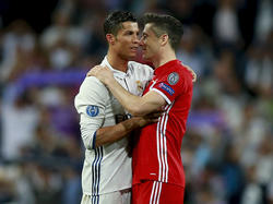 Bald vereint in München? Cristiano Ronaldo (l.) und Robert Lewandowski