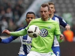 Maximilian Arnold hat in Wolfsburg noch drei Jahre lang Vertrag