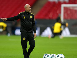BVB-Trainer Peter Bosz gerät unter Druck