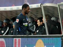 Jordan Torunarigha ist vom DFB für ein Spiel gesperrt worden
