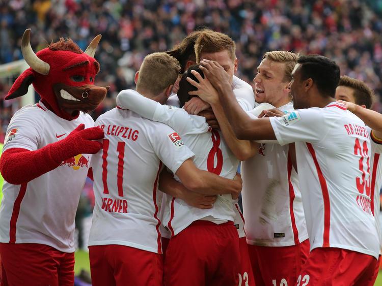 RB Leipzig setzt seinen Höhenflug weiter fort