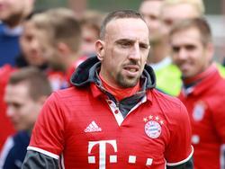Franck Ribéry ist bei den Bayern wieder im Training