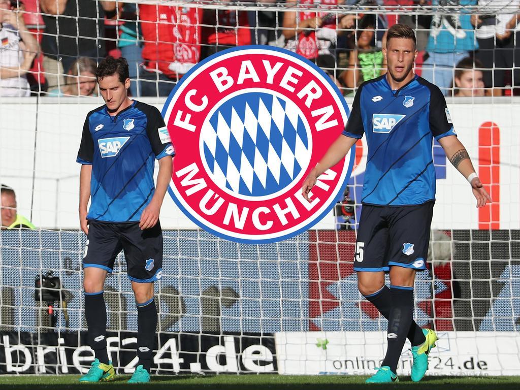 Sebastian Rudy (l.) und Niklas Süle wechseln wohl zum FC Bayern München