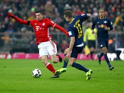 In der Rückrunde könnte sich das Duell zwischen Bayern und RB zuspitzen