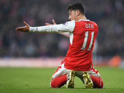 Mesut Özils Vertrag beim Arsenal FC läuft 2018 aus