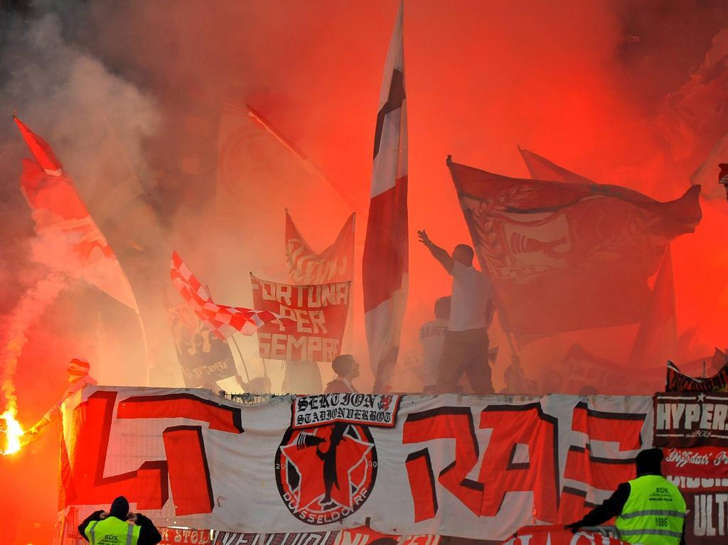 Geldstrafe nach Pyrotechnik bei der Düsseldorfer Fortuna