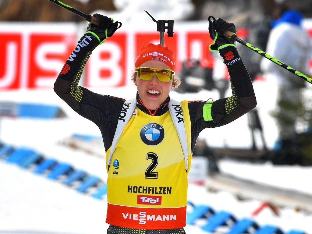 Biathlon in Pyeongchang im Live-Ticker: Olympia-Probe in Südkorea: Dahlmeier