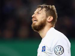 Aaron Hunt fällt für das Hamburger Gastspiel auf Schalke aus