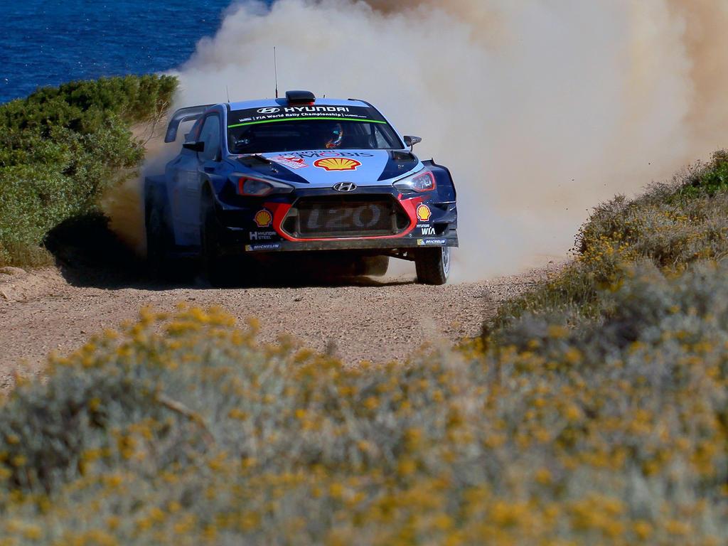Estnischer Sieg bei Deutschland-Rallye