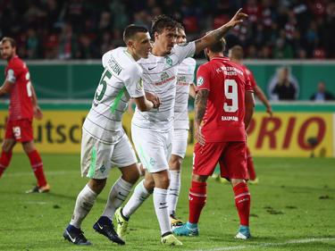 Der SV Werder Bremen steht in der 2. Runde