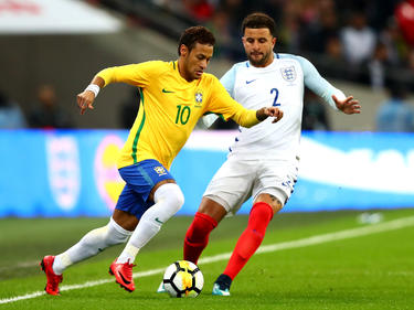 Neymar und die brasilianische Nationalmannschaft verpassten den Sieg in England