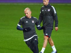 Arjen Robben laboriert derzeit an einer Muskelverletzung