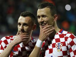 Torschützen für Kroatien: Marcelo Brozović und Ivan Perišić