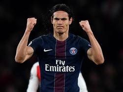 Cavani bleibt Paris Saint-Germain bis 2020 erhalten