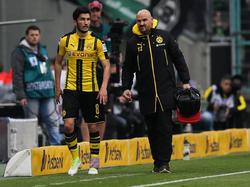 Nuri Şahin musste schon nach gut 20 Minuten vom Feld