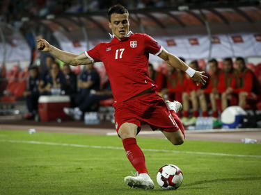 Filip Kostić war mit Serbien erfolgreich