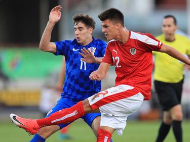 Österreich spielt gegen Kroatien stark auf