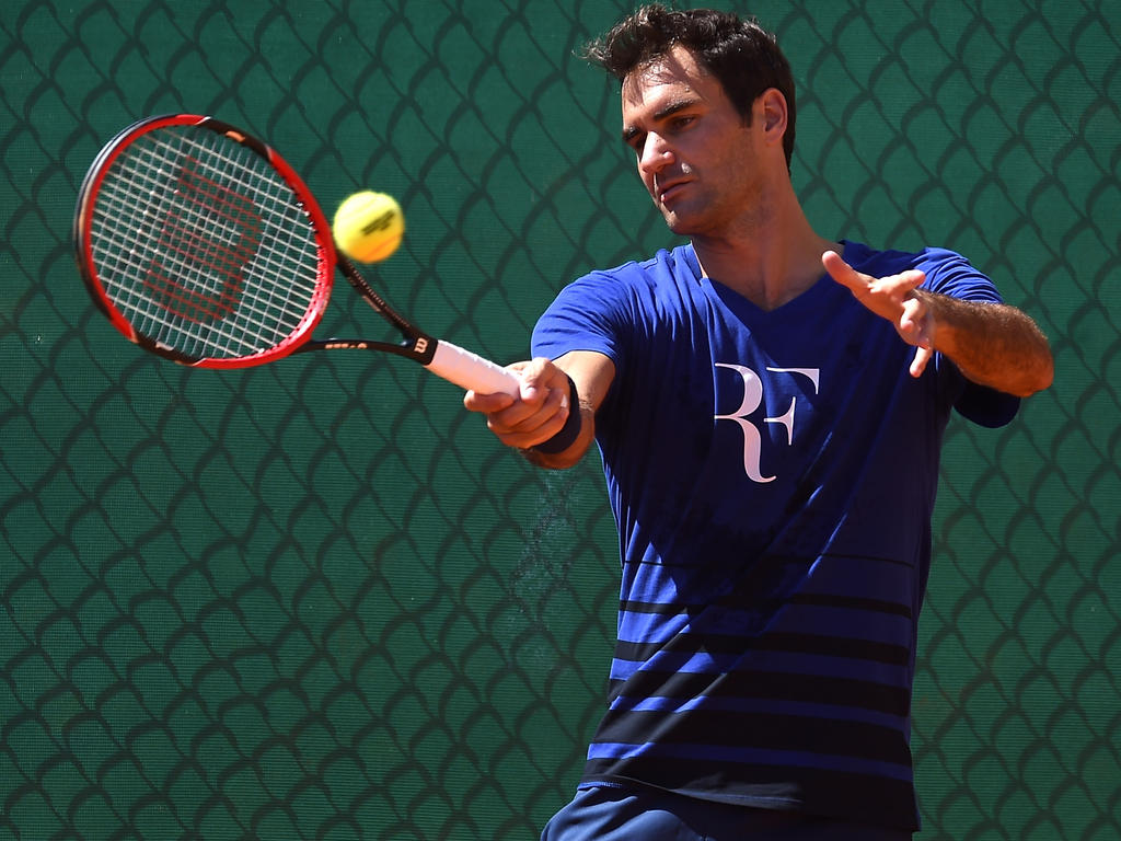 Roger Federer wird in Stuttgart aufschlagen