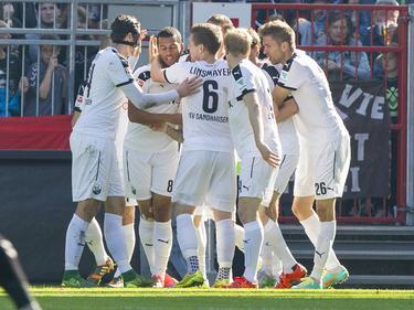 Der SV Sandhausen feierte einen überraschenden Sieg in Hamburg